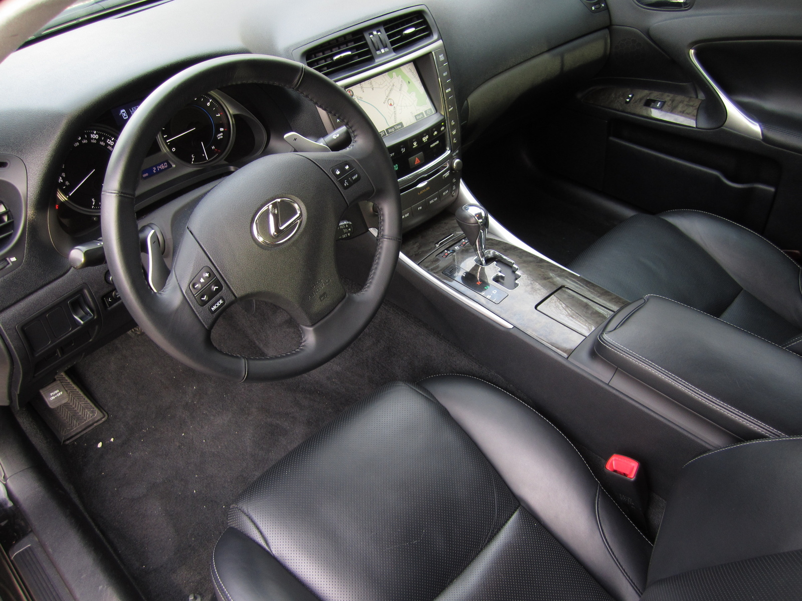 2009 lexus is 250 interior pictures cargurus. Black Bedroom Furniture Sets. Home Design Ideas