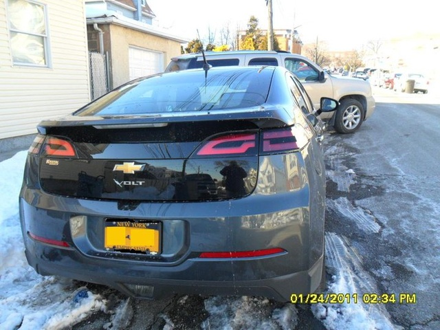 Back of the Chevy Volt