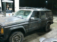 1988 Jeep Cherokee, drivers side, exterior