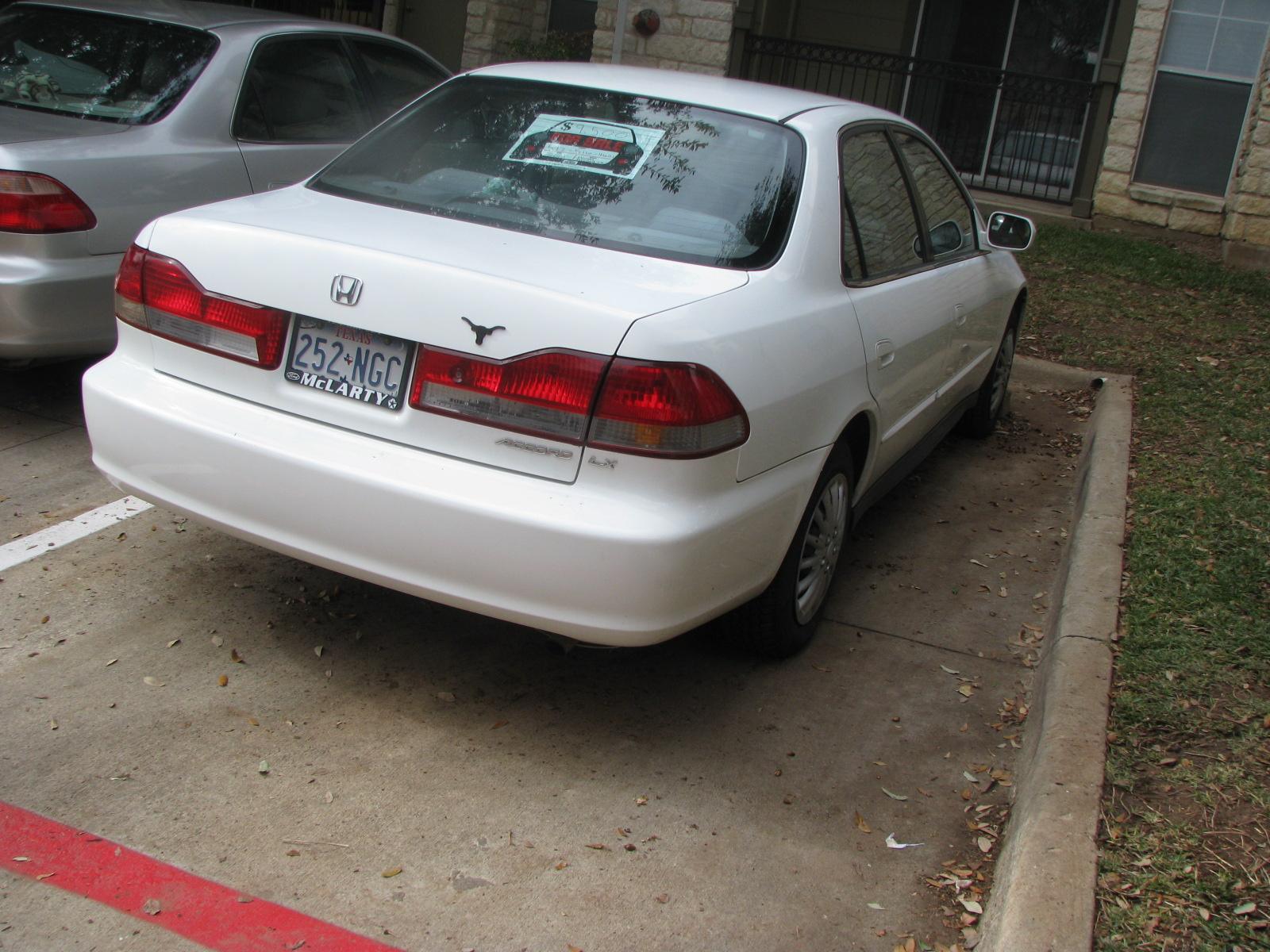 2001 Honda Accord Sedan V 6 Related Infomation