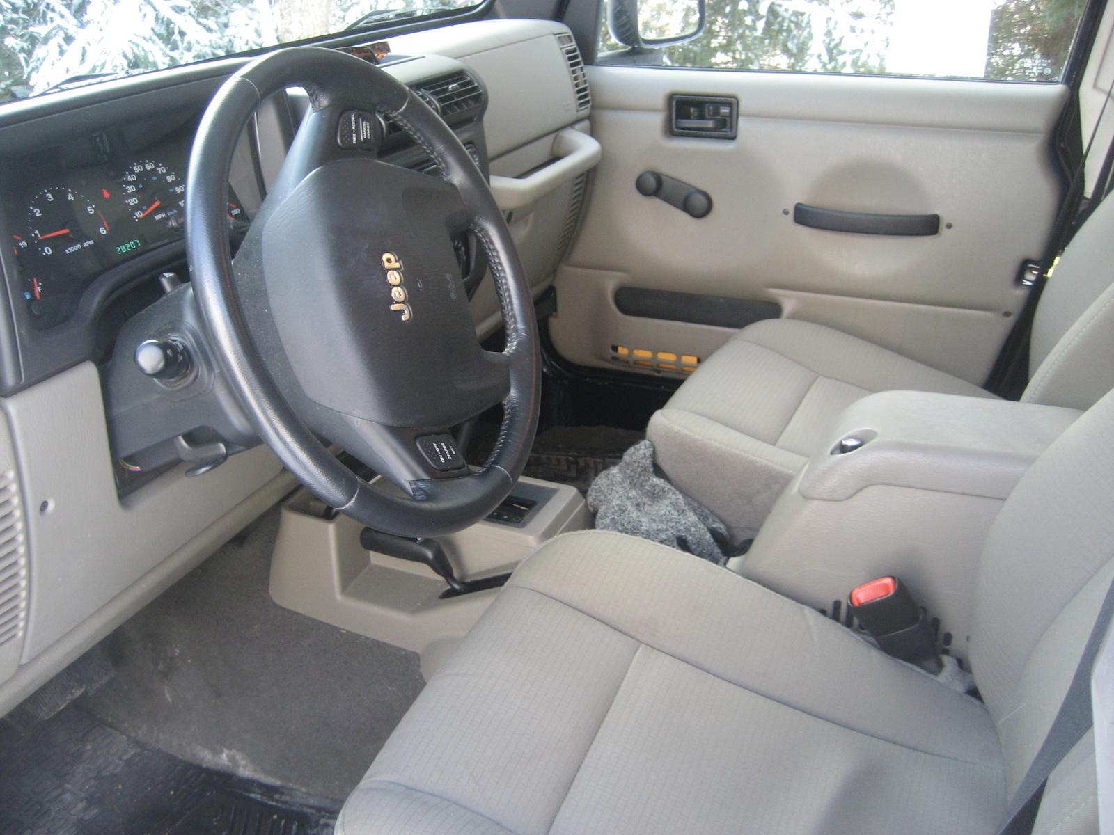 2006 Jeep Wrangler Interior Pictures Cargurus