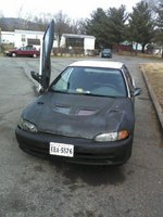 1994 Honda Civic 2 Dr CX Hatchback picture
