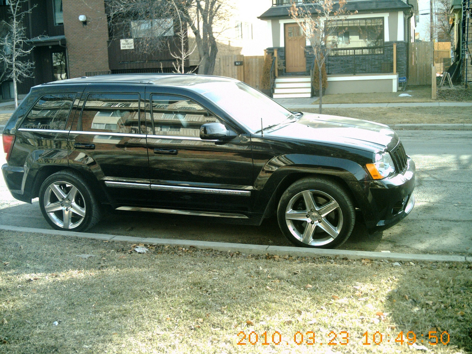 picture of 2008 jeep grand cherokee srt8 exterior. Cars Review. Best American Auto & Cars Review