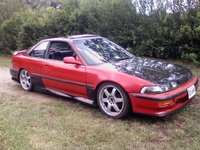 1993 Acura Integra LS Hatchback, The sideskirts and rear bumper cover., exterior
