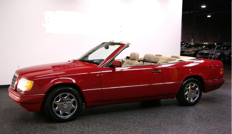 1995 mercedes diesel craigslist for Mercedes benz e320 convertible for sale