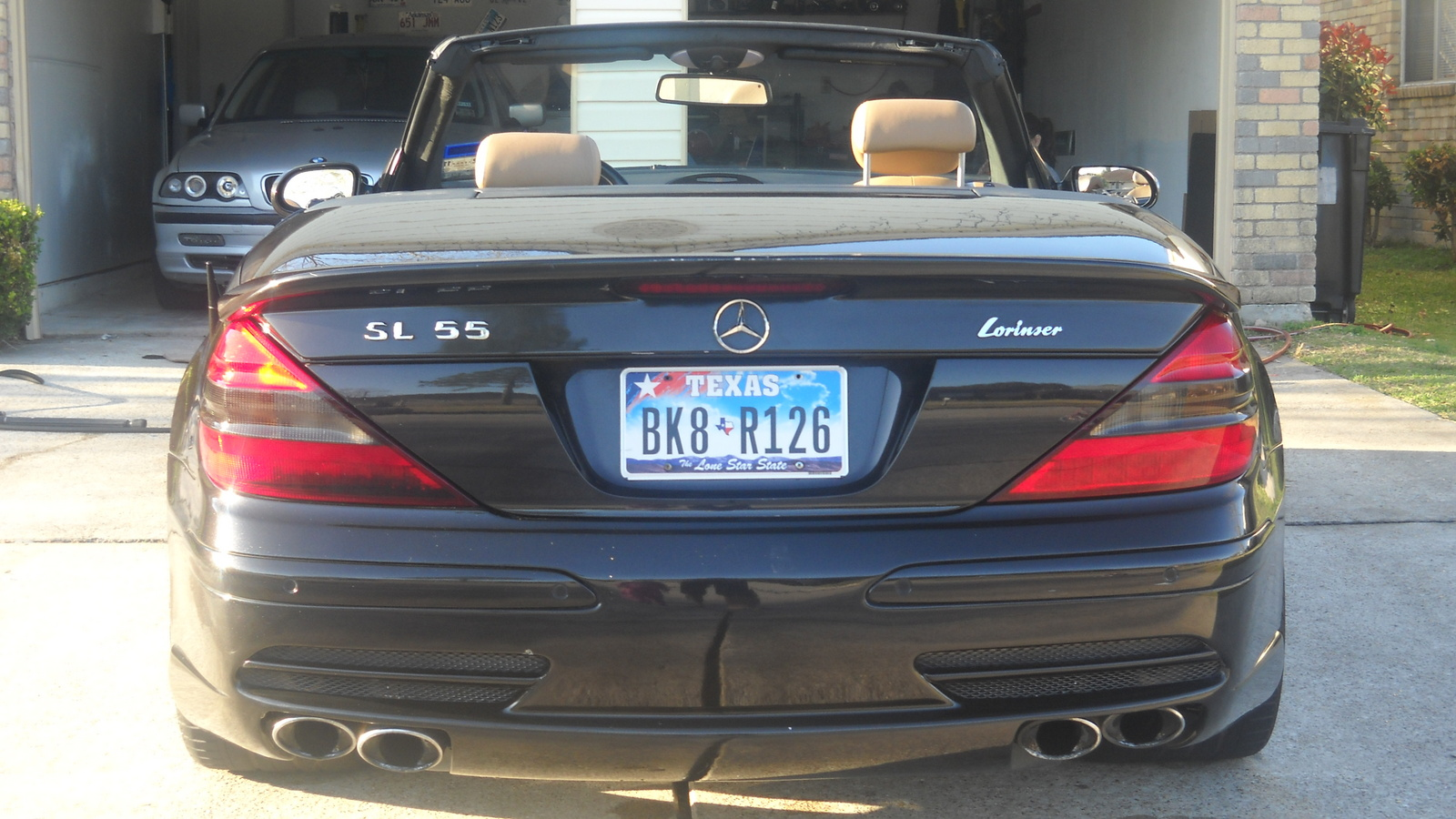 301 moved permanently for Mercedes benz sl55
