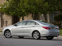 2011 Hyundai Sonata GLS, 6 Spd Manual, Silver Sky, exterior