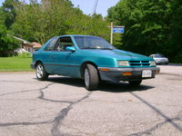 1991 Dodge Shadow 2 Dr America Hatchback, waxin rollas all day, exterior