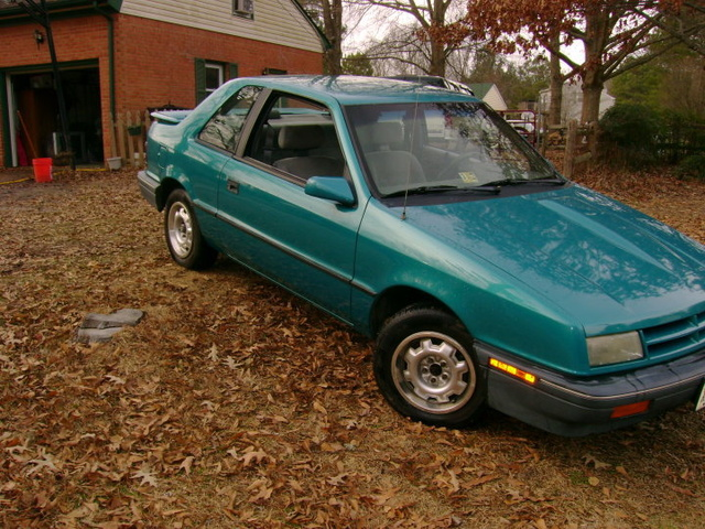 Picture of 1991 Dodge Shadow 2 Dr America Hatchback
