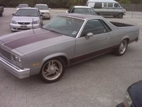 1985 Chevrolet El Camino, the temp. car till i fix my 4runner... haha looks like something erick would drive... ha, exterior