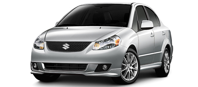 2011 Suzuki SX4, Three quarter view. , exterior, manufacturer