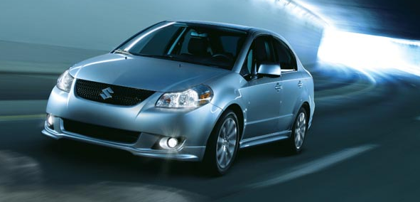 2011 Suzuki SX4, Front Three Quarter View. , manufacturer, exterior