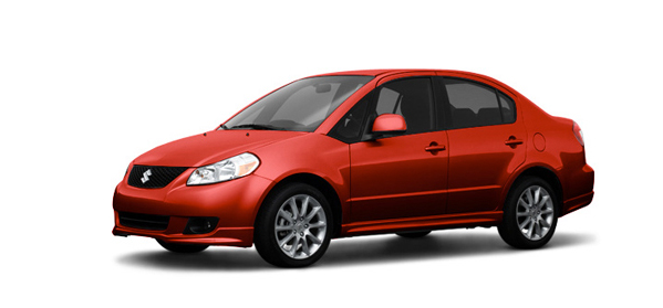 2011 Suzuki SX4, Three Quarter View. , manufacturer, exterior