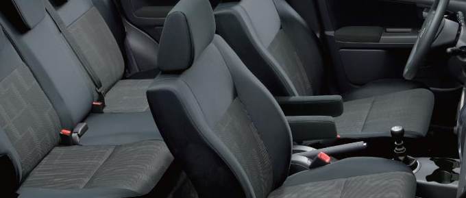 2011 Suzuki SX4, Front and Back Seats , interior, manufacturer