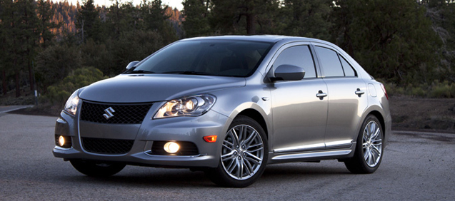 2011 Suzuki Kizashi, Front three quarter view. , manufacturer, exterior