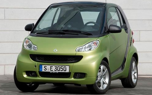 2011 smart fortwo, Front View. , exterior, manufacturer