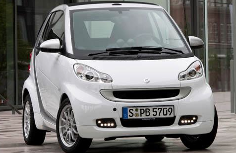 2011 smart fortwo, Three quarter view. , exterior, manufacturer