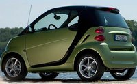 2011 smart fortwo, Back three quarter view. , exterior, manufacturer