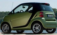 2011 smart fortwo, Back three quarter view. , manufacturer, exterior