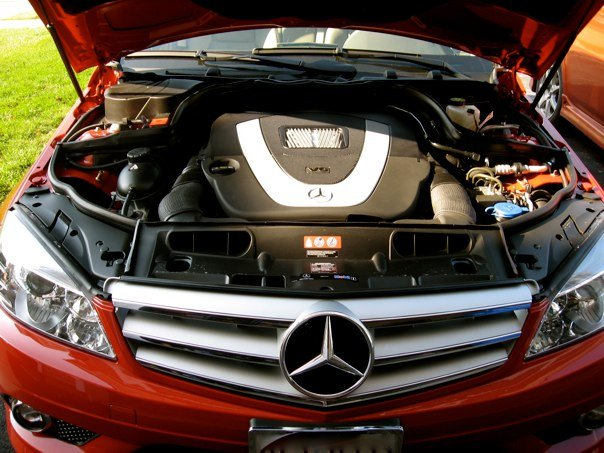 2010 Mercedes-Benz C-Class C300 Sport, v6, engine
