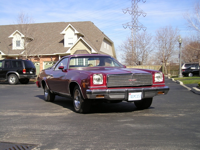 1974 GMC Sprint, This is my 74, new paint, original colour.  I need a new rear bumper rubber strip  and also steering wheel to make it perfect. Bruce, exterior