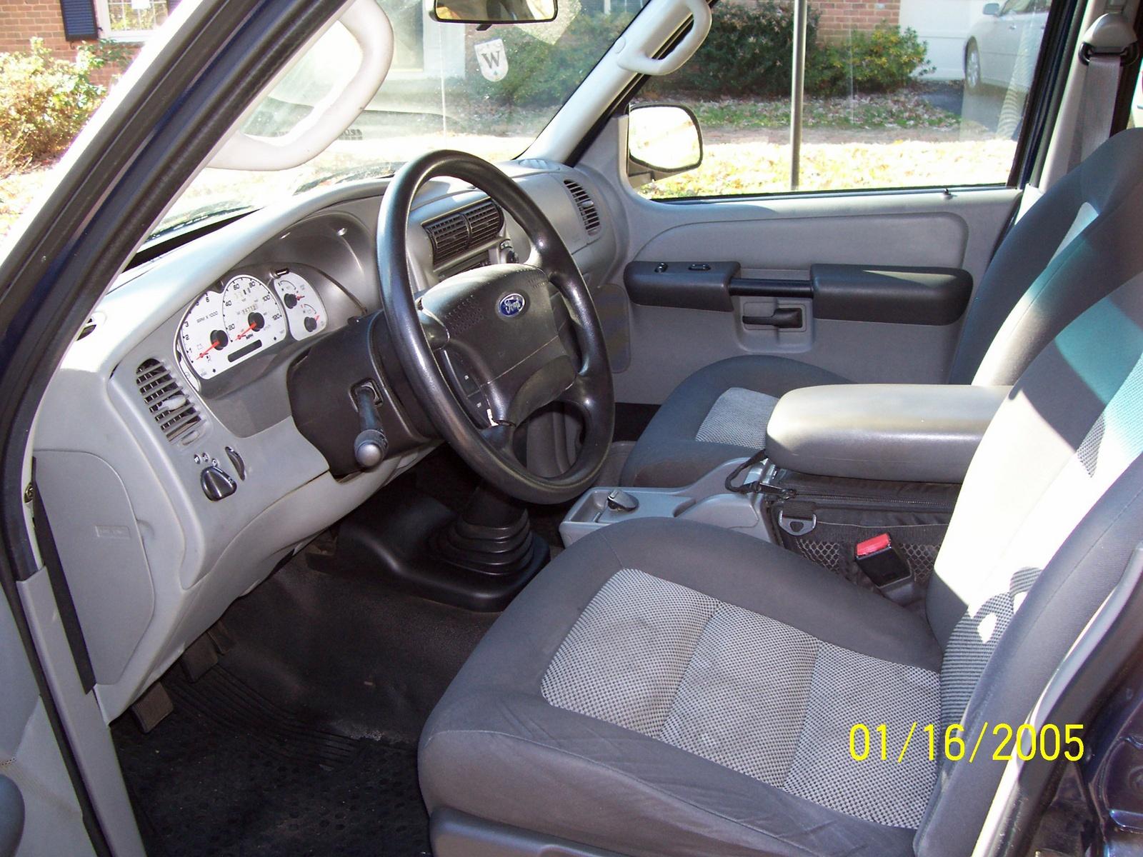 2003 Ford Explorer Sport Trac Interior 2003 Ford Explorer Sport Trac