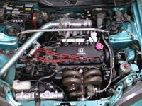 1993 Honda Civic Si Hatchback, 1993 Honda Civic 2 Dr Si Hatchback picture, engine
