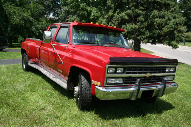 1989 Chevrolet C/K 3500, Just before I sold it. And after i did some work to it., exterior