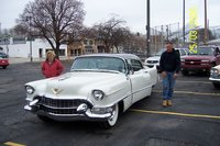 1955 Cadillac DeVille, The Gray Lady makes her Milwaukee debut!, exterior