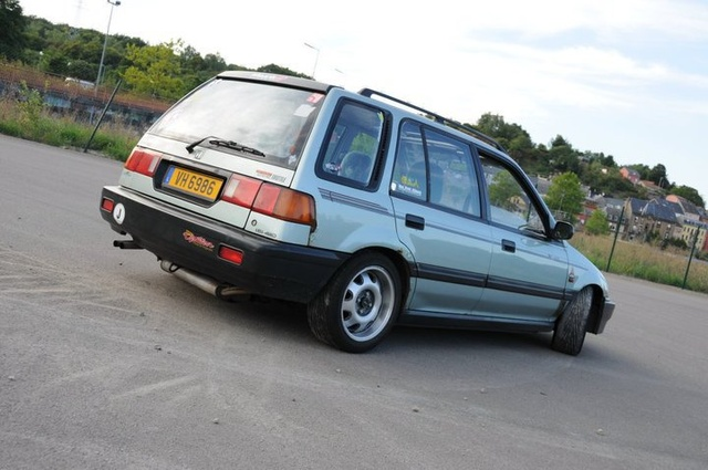 Picture of 1990 Honda Civic Wagon 4WD, exterior, gallery_worthy