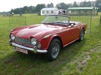 1968 Triumph TR4A Overview