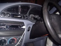 1998 Ford Fiesta, The Inside with the replaced Tape player now a Sony Blue tooth, MP3 and CD player, interior