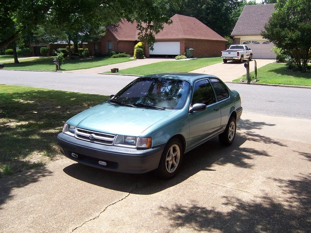 1994 Toyota Tercel 2 Dr STD Coupe, the sex cruiser, exterior