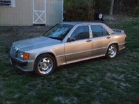 1991 Mercedes-Benz 190-Class 4 Dr 190E 2.3 Sedan, Luv these CLK wheels!!!, exterior, gallery_worthy
