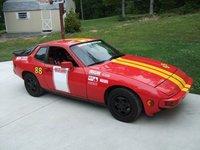 1987 Porsche 924S - sort of a race car, exterior