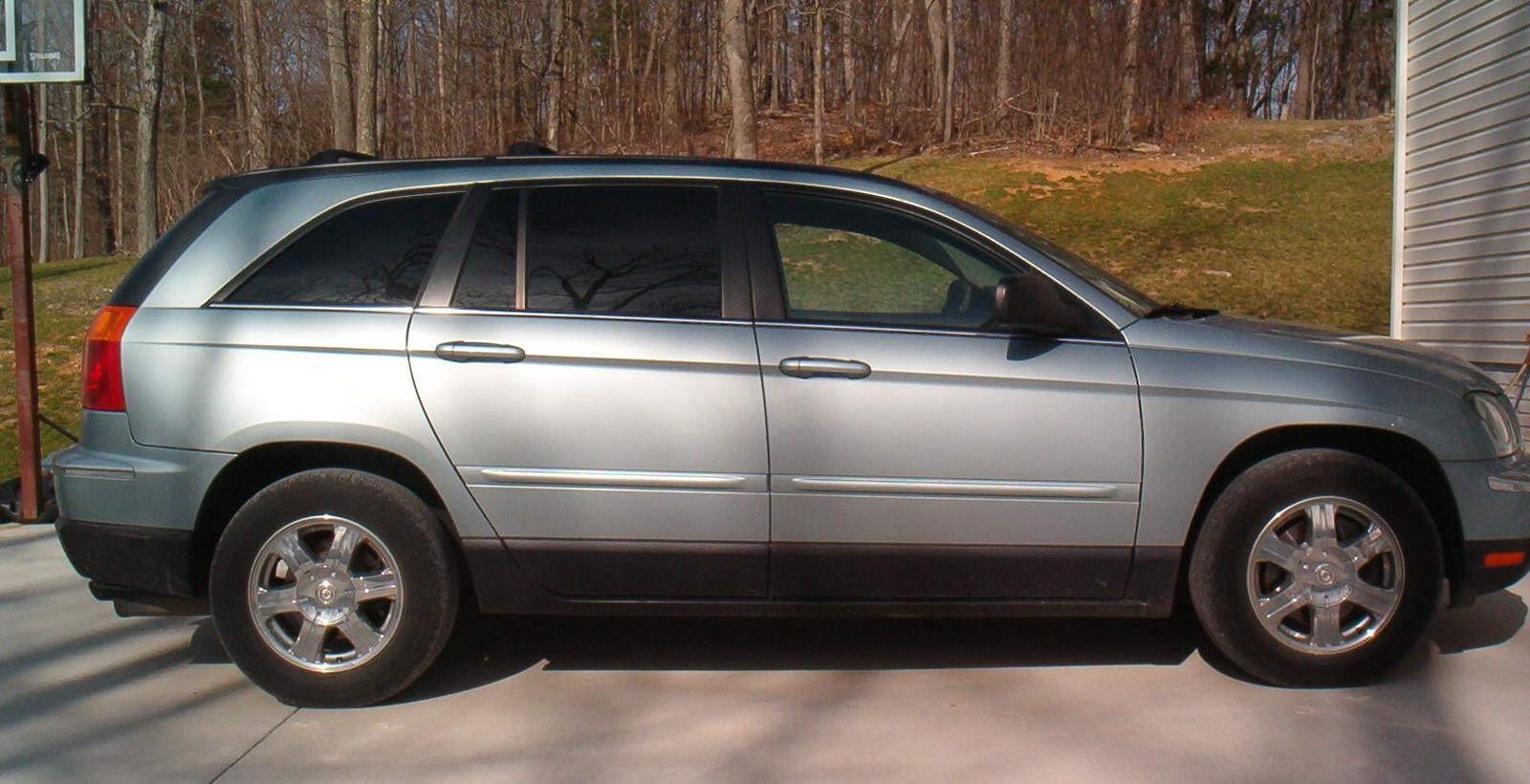 picture of 2007 chrysler pacifica 4 dr touring awd u package exterior. Cars Review. Best American Auto & Cars Review