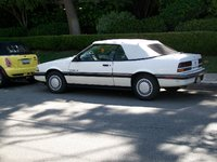 1991 Pontiac Sunbird 2 Dr LE Convertible, This is Chloe, my baby., exterior