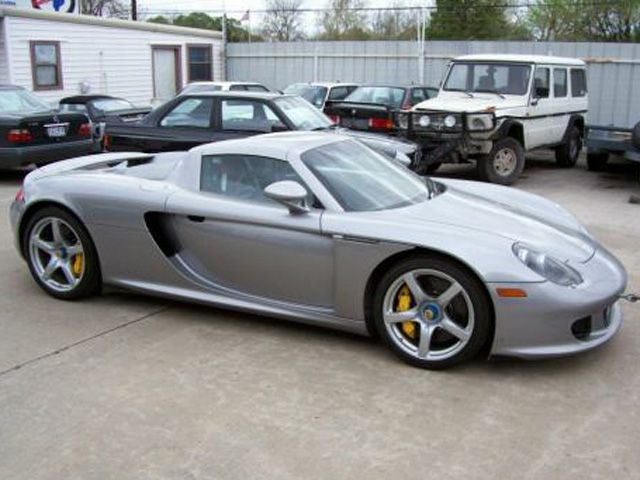 2004 Porsche Carrera Gt 2 Dr Std Convertible Pic 4371022953623274824