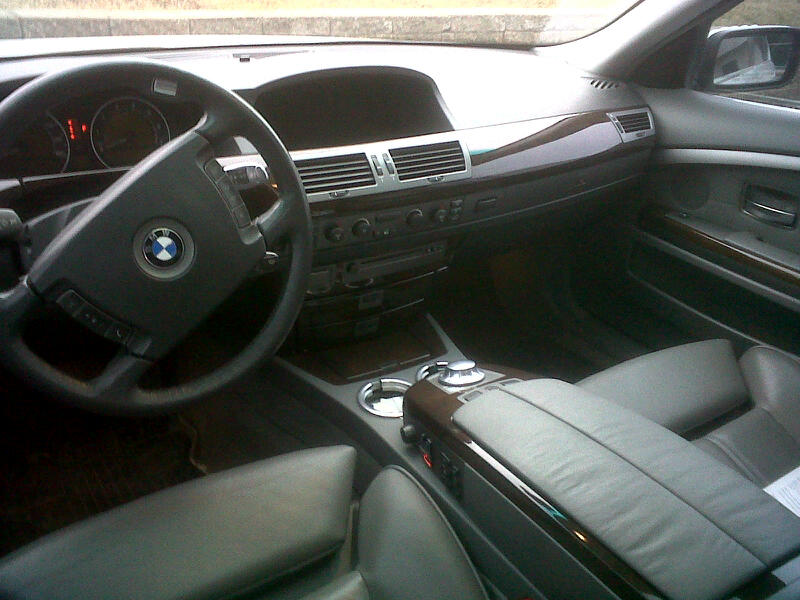 2002 Bmw 7 Series Interior. Picture of 2003 BMW 7 Series