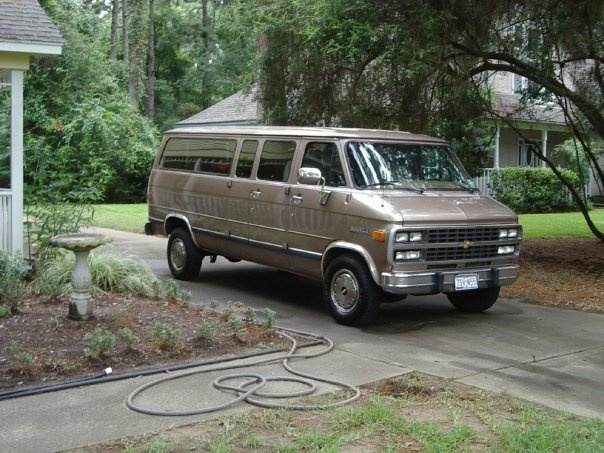 1995 Chevrolet Chevy Van 3 Dr G30 Cargo Van Extended, Chevy G30 Beauville, exterior