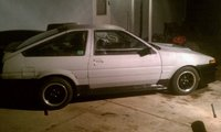 1984 Toyota Corolla SR5 Coupe, How it currently looks as of 2/16/11, exterior