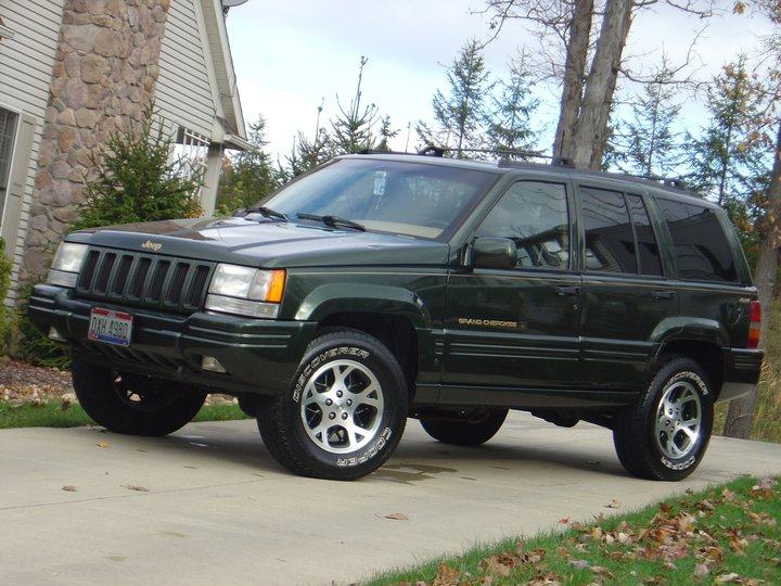 picture of 1997 jeep grand cherokee orvis 4wd exterior. Black Bedroom Furniture Sets. Home Design Ideas