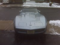 1982 Chevrolet Corvette Coupe, b4, exterior, gallery_worthy