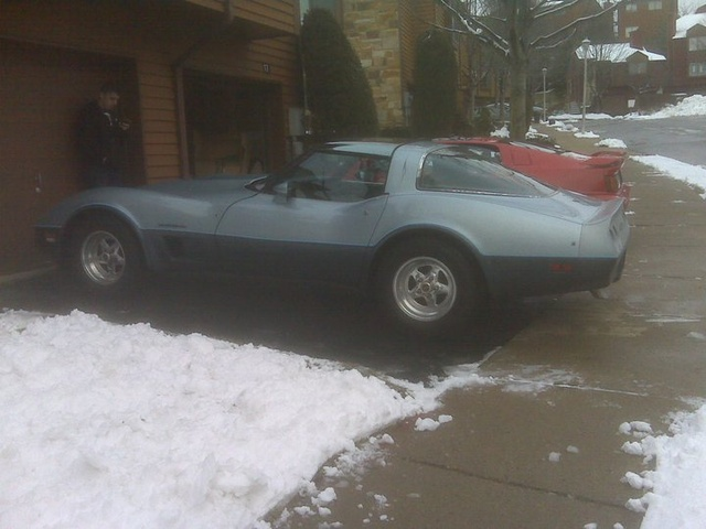 1982 Chevrolet Corvette Coupe RWD, b4, exterior, gallery_worthy