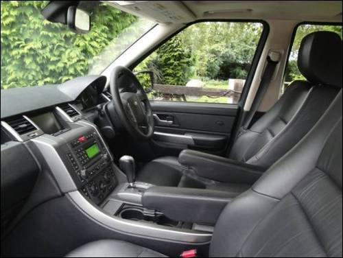 2009 Land Rover Range Rover Sport Interior Pictures