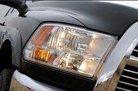 2011 Ram 2500, Close-up on headlight, exterior, manufacturer