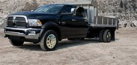 2011 Ram 3500, Front three quarter view. , exterior, manufacturer