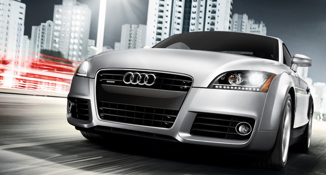 2011 Audi TT, Front View. , exterior, manufacturer