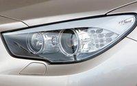 2011 BMW 5 Series Gran Turismo, Close-up of headlight., exterior, manufacturer