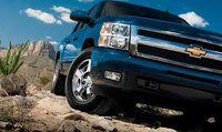 2011 Chevrolet Silverado 1500, Close-up of front view. , exterior, manufacturer